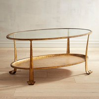 Dansby Gold Coffee Table