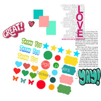Stickers For planners, card-making, journals,scrapbooking
