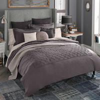 Beekman 1802 Bellvale Duvet Cover in Dusk