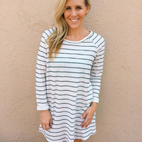 Alpine Striped Dress