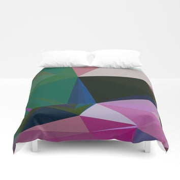 No Boundaries Duvet Cover by duckyb