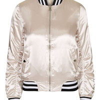 Sateen MA1 Bomber Jacket - Jackets - Clothing