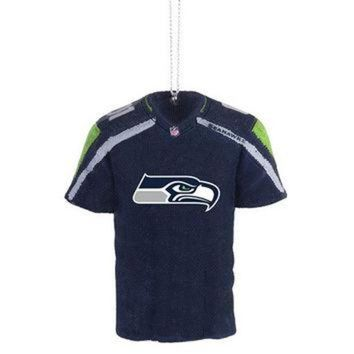 DCCK8X2 Seattle Seahawks NFL Resin Jersey Ornament