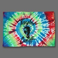Taylor Tie Dye Pillow Case : TCNF : Taylor Caniff