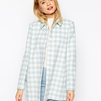 ASOS Jacket In Check