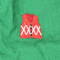 Barefoot Boxer in Forest Green with Ugly Christmas Sweaters by Castaway Clothing