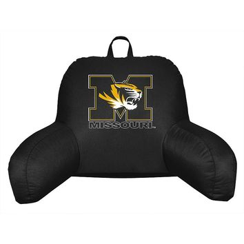 Missouri Tigers Sideline Backrest Pillow (Black)