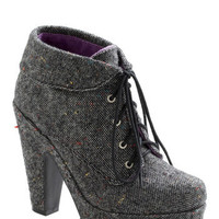 Tweed As Can Be Boots | Mod Retro Vintage Boots | ModCloth.com