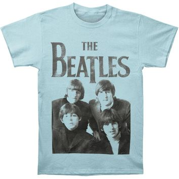 Beatles Men's  The Beatles Vintage T-shirt Blue
