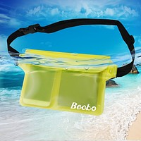 Waterproof Triple Closure Waist Bag Pouch