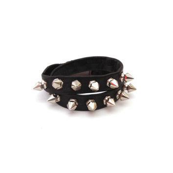 Mini Spike Wrap Bracelet