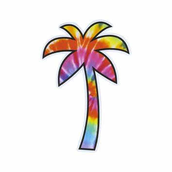Palm Tree Tie Dye Sticker | Stickers, Patches + Pins