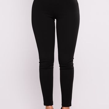 Brielle High Rise Pants - Black
