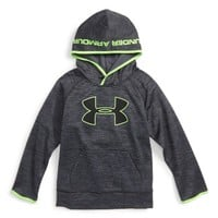 Under Armour Twist Big Logo Hoodie (Toddler Boys & Little Boys) | Nordstrom