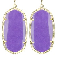 Danielle Earrings in Violet - Kendra Scott Jewelry