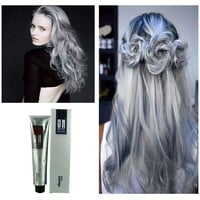 100ml Danesi Goon Color Hair Cream Light Gray Color Permanent Super Hair Dye