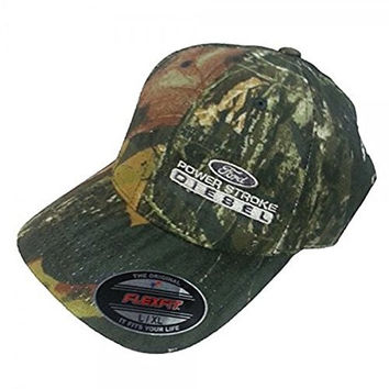 Power Stroke Diesel Mossy Oak FlexFit Hat