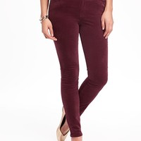 Mid-Rise Velvet Rockstar Jeans for Women | Old Navy
