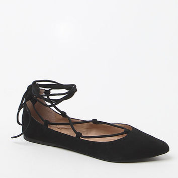 Steve Madden Eleanorr Lace-Up Flats at PacSun.com