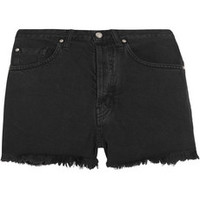 MiH Jeans The Halsy Cut-Off denim shorts – 55% at THE OUTNET.COM