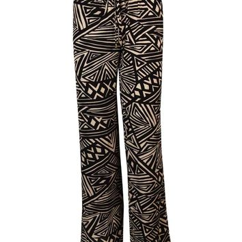 Calvin Klein Women's Print Drawstring Stretch Pants