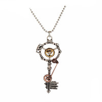 Cool Steampunk Key Necklace