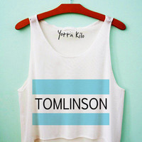 Tomlinson Flag Crop Tank Top
