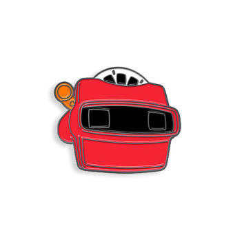 View Master Enamel Pin