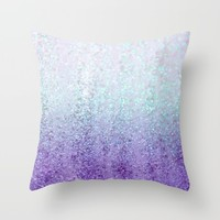 Summer Rain Dreams Throw Pillow by Lisa Argyropoulos