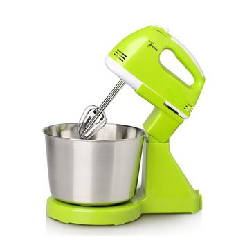 EU Plug 220V 7 Multi Speed Electric Stand Mixer Hand Countertop Kitchen Homemade Cakes Muffins