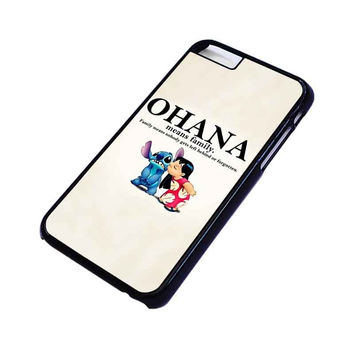 LILO AND STITCH OHANA FAMILY Disney iPhone 6 Case