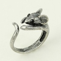 Little Mouse Wrap Open Ring