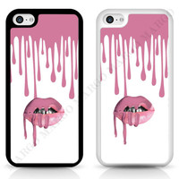 New Kylie Jenner Lips Lipkit Drips Case for iPhone Samsung Sony iPod