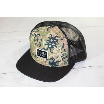 "HOOey CAMO ""Roots"" OSFA (snapback) 1730T-C NEW FOR 2017"
