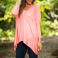 Good Time Tunic, Pink