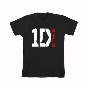 One Direction 1D logo t-shirt unisex adults