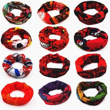 HOT BRO Outdoor Sports Seamless Men Women Magic Scarf Bandana Windproof Face Mask Snowboard Hood Cycling Cap Bicycle Scarves