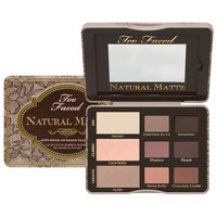 Too Faced Natural Matte Matte Neutral Eye Shadow Collection | Beauty.com
