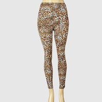 Leopard Print Exotic Design Leggings