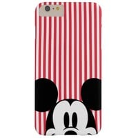 Peek-a-Boo Mickey Mouse Barely There iPhone 6 Plus Case