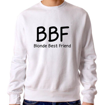 Blonde Best Friend 4572 Sweater Man and Sweater Woman