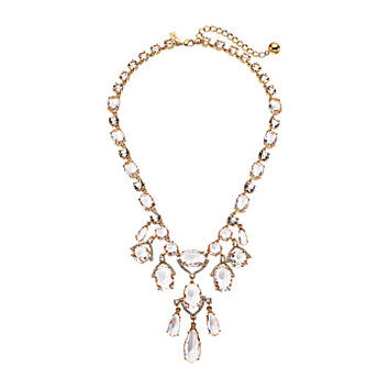 Kate Spade New York Crystal Cascade Statement Necklace