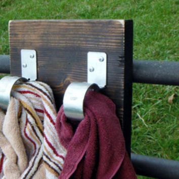 Best Rustic Towel Rack Products On Wanelo