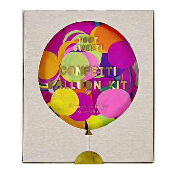 Meri Meri | Toot Sweet Confetti Balloon Kit