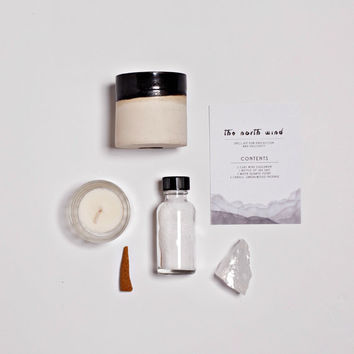 NORTH WIND Spell Kit For Protection and Positivity