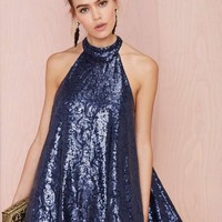 Niki Shift Sequin Dress