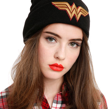 DC Comics Wonder Woman Watchman Beanie