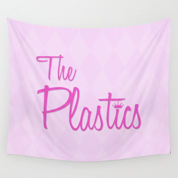 The Plastics - from the movie Mean Girls Wall Tapestry by AllieR
