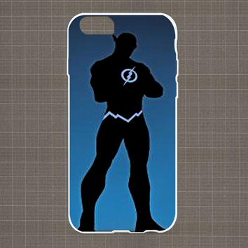DC Marvel Heroes Silhouette 06 iPhone 4/4S, 5/5S, 5C Series Hard Plastic Case