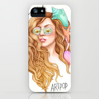Free my mind, ARTPOP iPhone & iPod Case by Helen Green
